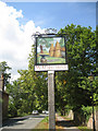 TQ6331 : Wadhurst village sign, High Street by Oast House Archive