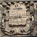 SJ8944 : Fenton coat of arms at Fenton Town Hall by Steven Birks