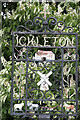 TL4943 : Ickleton Village Sign by Martin John Bishop
