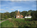 TQ7235 : Oast House at Forge Farm, Bedgebury Road, Goudhurst, Kent by Oast House Archive