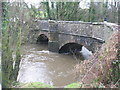 ST2485 : Bridge over the River Rhymney by John Thorn