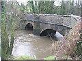 ST2485 : Bridge over the River Rhymney by John Thorn