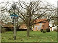 TM2460 : The village sign at Brandeston by Robert Edwards