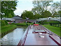 SP5366 : Braunston Canal Junction bridges from Oxford Canal by John Latchford