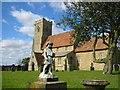 TL2082 : St Andrew's Church Wood Walton by Chris Stafford
