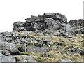 SH4047 : Approaching the summit  of Gyrn Goch by Eric Jones