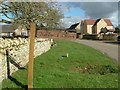 SP5729 : Hardwick Church sign by Snidge