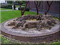 SJ8847 : Remains of Bottle Kiln, Hanley by Steven Birks