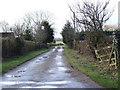TM1294 : Lane to Common Farm by Ian Robertson