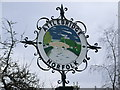 TG1216 : Attlebridge Village Sign by Ian Robertson