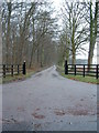 TL8688 : Entrance To Croxton Park by Keith Evans