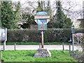 TM1085 : Winfarthing Village Sign by Ian Robertson