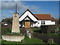 TL4349 : Village Hall, Newton, Cambs by Rodney Burton