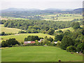 ST4697 : Looking North over Kilgwrrwg House by Richard Smith