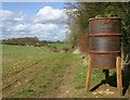 SP4522 : Bird feeder near Buswell's Thicket by Martin Loader