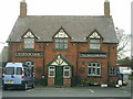 SJ6563 : The Raven Inn, on the B5074 Swanlow lane, Darnhall, nr Winsford . by john mcguire