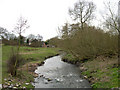 SO8593 : Smestow Brook, near Trysull, Staffordshire by Roger  Kidd