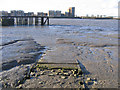 TQ4479 : Disused slipway, Woolwich by Stephen Craven