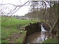 SO4514 : Ornamental bridge and mill-race by Jonathan Billinger