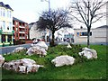 SX4654 : Rock landscaping, Union Street, Plymouth by Tom Jolliffe