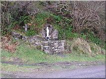 G6990 : Shrine on Road to Maghera Strand by Dennis Reynolds