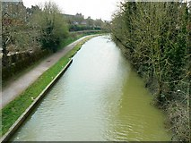 ST9961 : Kennet and Avon canal, from Northgate Street bridge, Devizes by Brian Robert Marshall