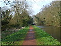 SO8583 : Towpath at Dunsley by Gordon Griffiths