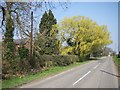 TL2653 : Farm entrance by d brewerton
