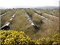 SE1220 : Abandoned mink farm, Upper Edge, Fixby, near Elland by Humphrey Bolton