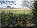 SJ5165 : Stile over Brook near Duddon by John S Turner