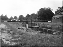 SU6570 : Garston Lock No 102, Kennet and Avon Canal by Dr Neil Clifton