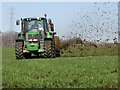 SD7913 : Muck Spreading by Paul Anderson