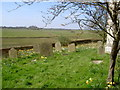 SE7038 : The Graveyard at Aughton Church by stuart hartley