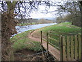 NY5539 : River Eden Lazonby by Howard Quinn