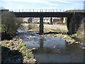 SD7915 : Summerseat Railway Bridge by Paul Anderson