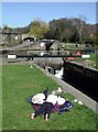 SE0922 : Salterhebble Locks by Paul Glazzard