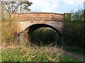 TQ1330 : Railway bridge on the Downs Link by Andy Potter
