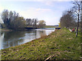TL0052 : Weir at River Great Ouse by Gary and Caroline Kidd