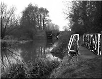 SU5666 : Hale's, or Heales, Lock No 93, Kennet and Avon Navigation by Dr Neil Clifton
