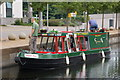 "J2764 : The ""Lagan Belle"" at Lisburn by Albert Bridge"