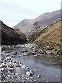 NN1656 : River Coe Ravine by Wullie Clarke