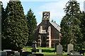 SJ4350 : Shocklach church by Geoff Evans