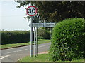 TL0864 : Signpost on the B660 by Les Harvey