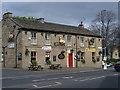SE1937 : The Roebuck pub, Harrogate Road, Greengates by Linden Milner