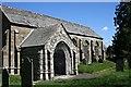SX3173 : South Porch, Linkinhorne Church by Tony Atkin