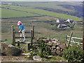 SM8031 : Stile above Abereiddy by Chris Gunns