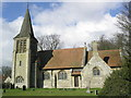 SP7406 : St Nicholas, Kingsey by Christina Burford