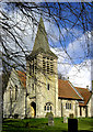 SP7406 : St Nicholas Church, Kingsey by Christina Burford