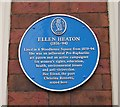 SE2933 : Plaque on wall of 6 Woodhouse Square by Betty Longbottom