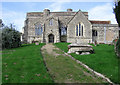 SP6811 : St. Mary's, Chilton by Christina Burford